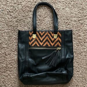 Kate Landry Large Shoulder Tote Bag
